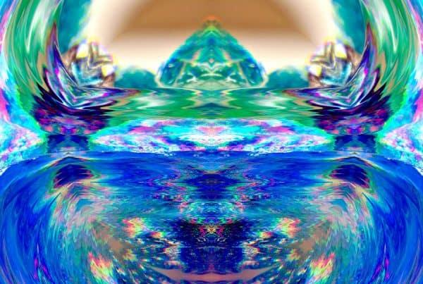 Atlantis blau grün 1